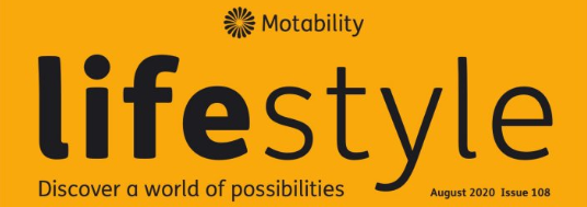 Lily and Sam book featured in the Motability Lifestyle magazine